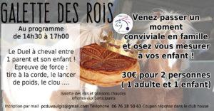 Galette des rois @ Poney club du Voulgis | Ozouer-le-Voulgis | Île-de-France | France
